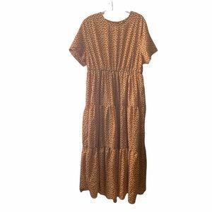 SHEIN dress modest 2Xl maxi long